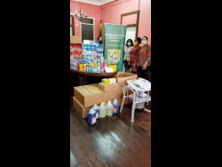 Some of the items donated to the Combined Disabilities Association recently.