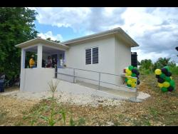 The one-bedroom house that was handed over to St Elizabeth resident, Winston Wint, on July 17, under the Government's New Social Housing Programme.