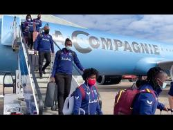 West Indies Women arrive in Derby yesterday for their T20 tour against England.
