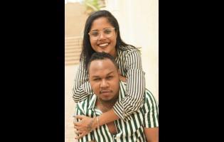 Denyque and husband Careem Mullings.