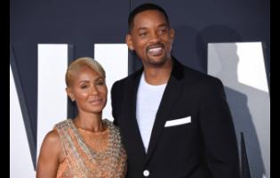 Jada Pinkett Smith and husband Will Smith.