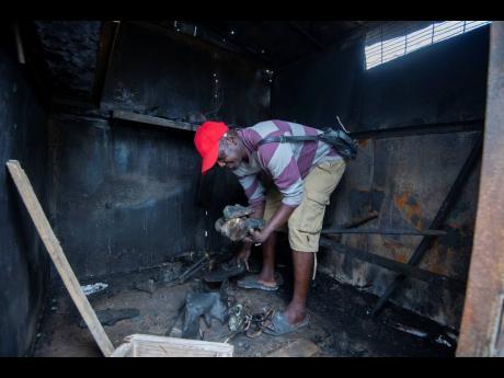 Shoemaker's shop burnt to the ground | News | Jamaica Star