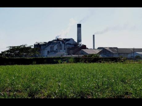 The Monymusk Sugar Factory.