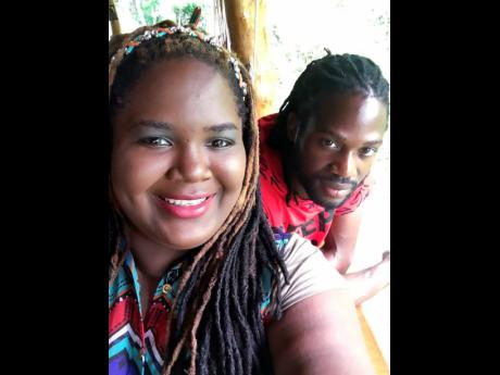Safira Mono and husband Renaldo Farquharson.