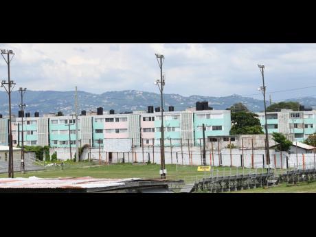 A View of the Edward Seaga Sports Complex, home of Tivoli Gardens FC.