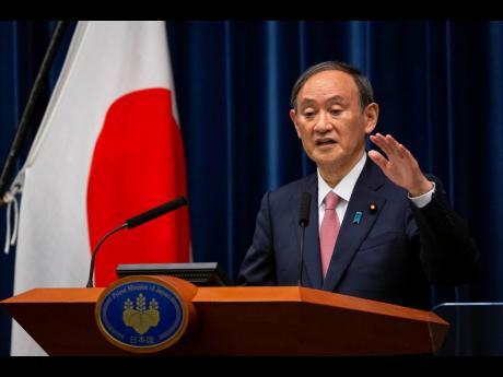 Japan's PM Yoshihide Suga
